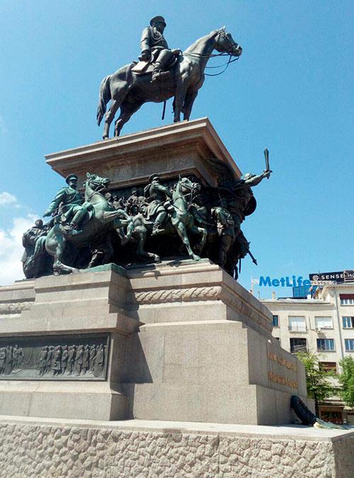 Памятник Александру II, который освободил Болгарию от турок