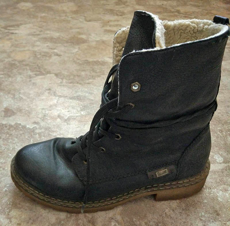 Мои ботинки за 350 рублей