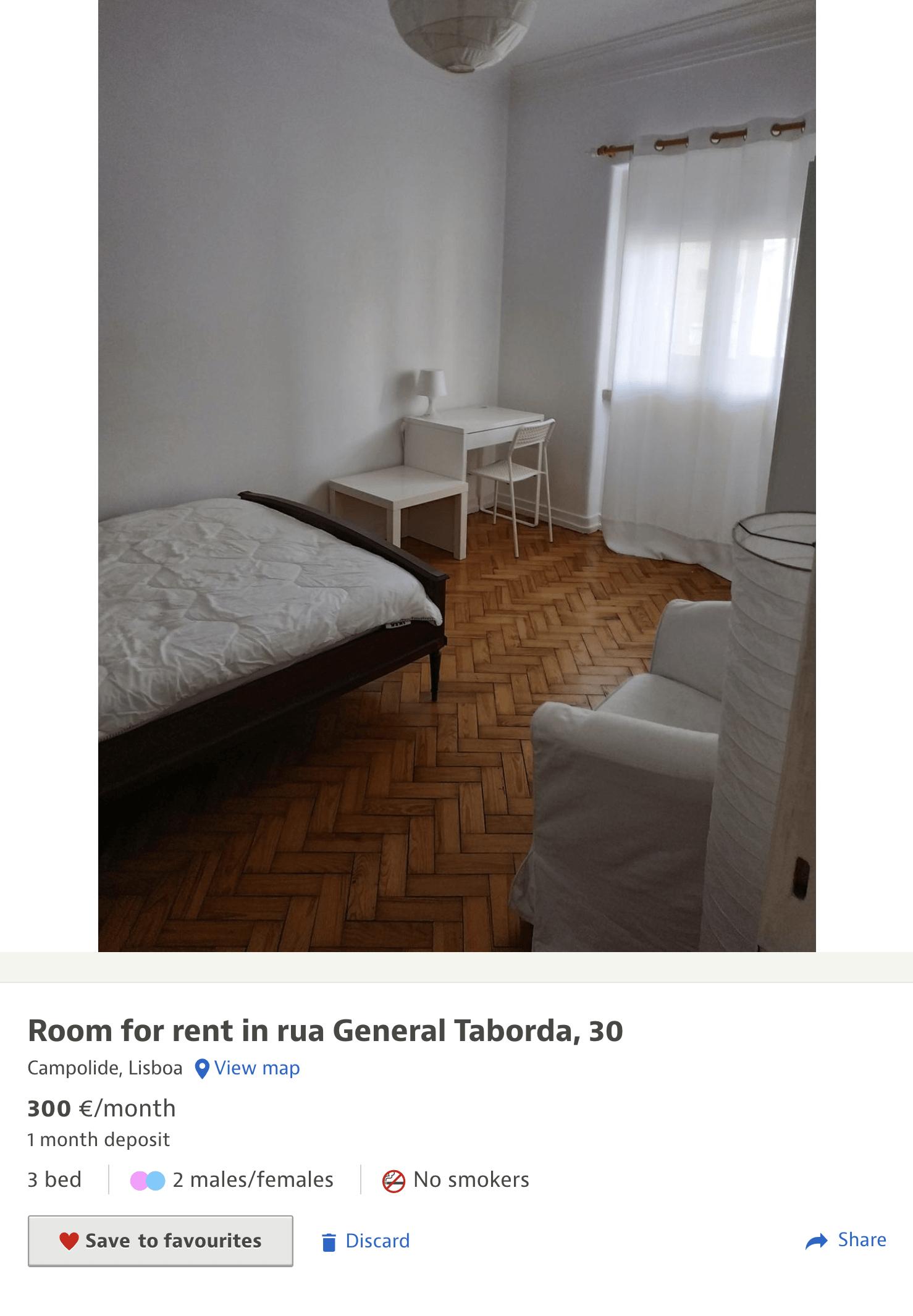 Простую комнату можно найти и за 300€ (21 545<span class=ruble>Р</span>)