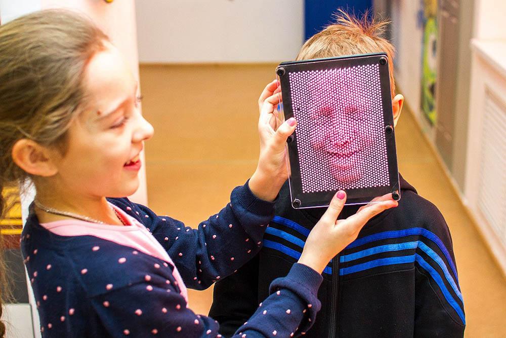 Экспонат, с которым можно сделать 3Д-маску лица