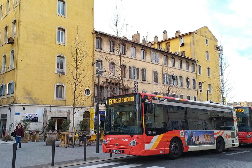 Так выглядят марсельские автобусы