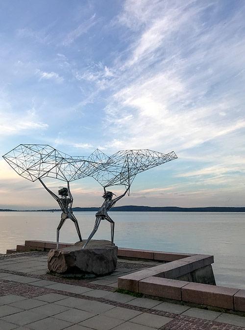 Эта скульптура называется «Рыбаки»