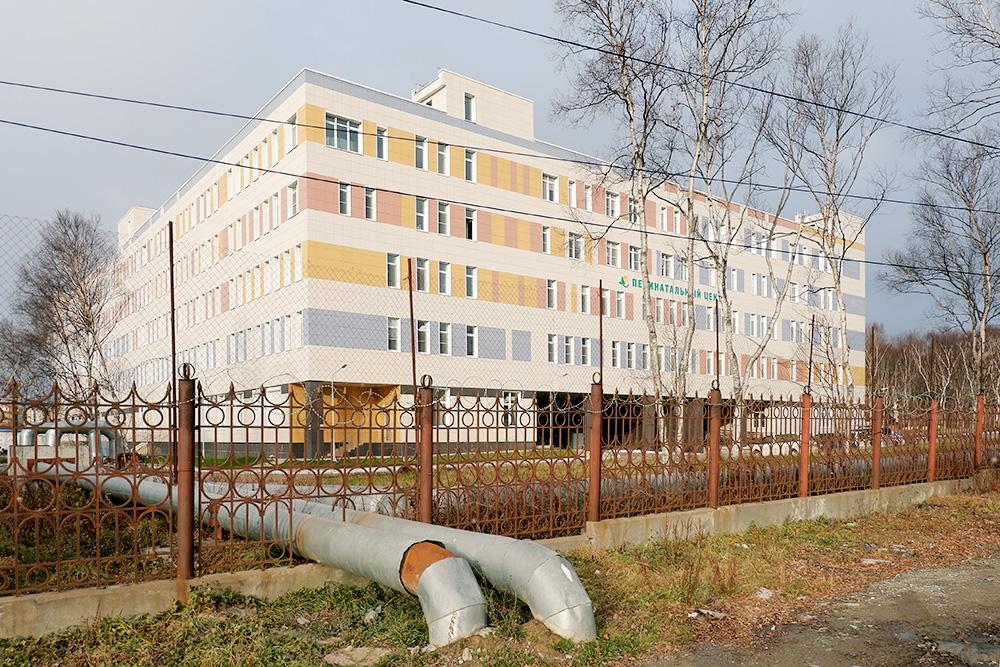 Весной 2018 года в Южно-Сахалинске заработал новый перинатальный центр. Через месяц после открытия в ординаторской обвалился потолок