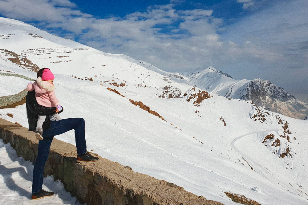 Следующей зимой мы планируем поставить дочку на лыжи