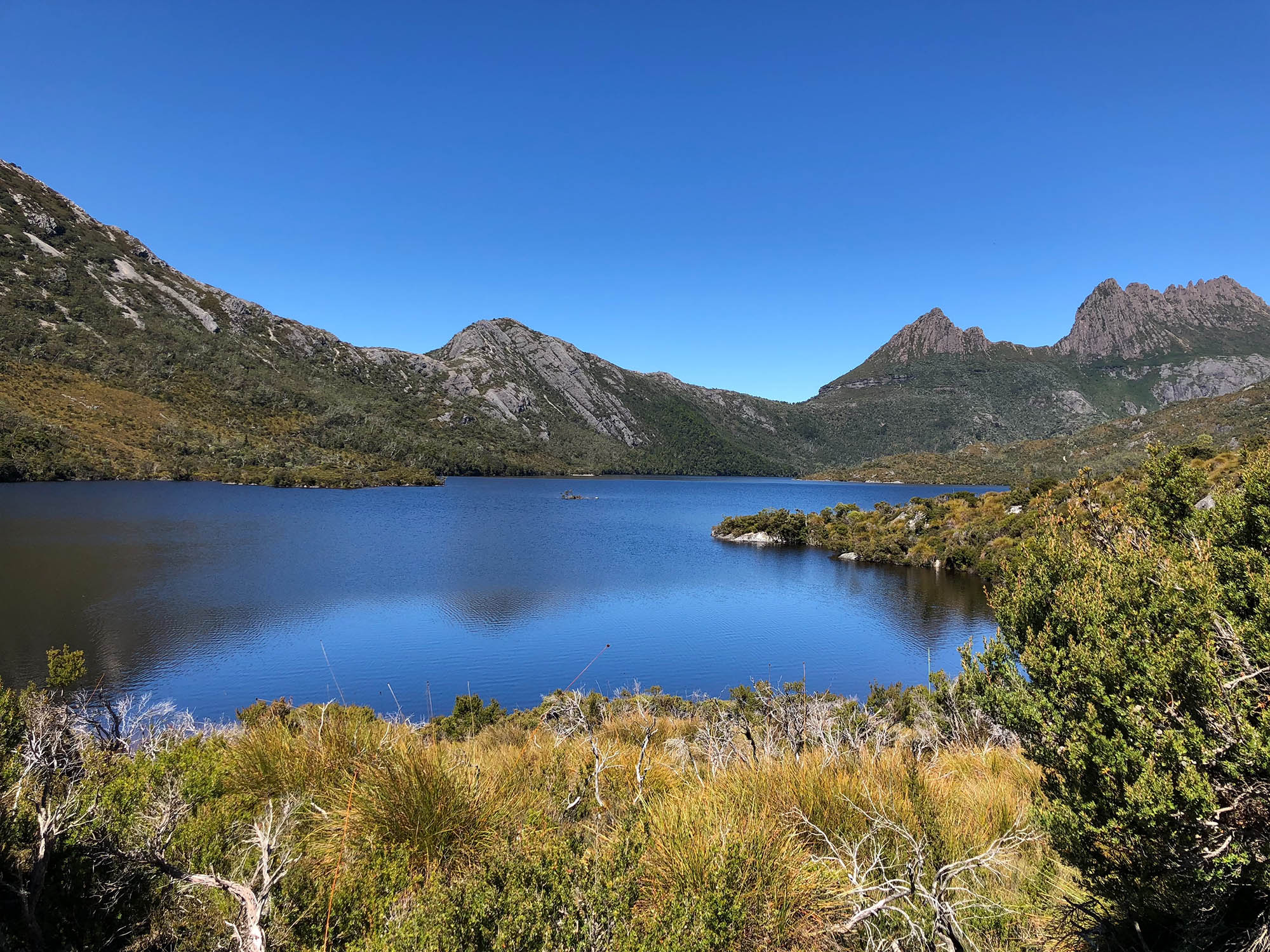 Национальный парк Cradle Mountain