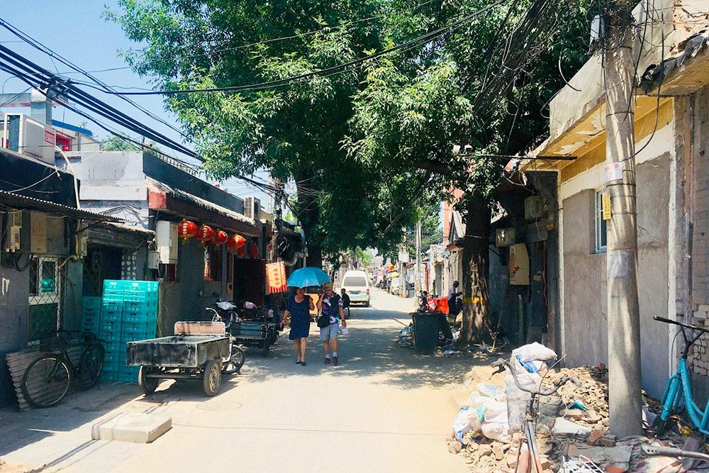Это хутонги в историческом центре Пекина, где до сих пор живут люди. Комнату там можно снять примерно за 3000¥ (29 253 р.) в месяц, но без отопления и удобств