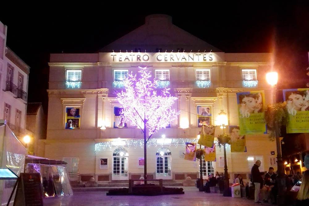 Театр «Сервантес» в центре Малаги