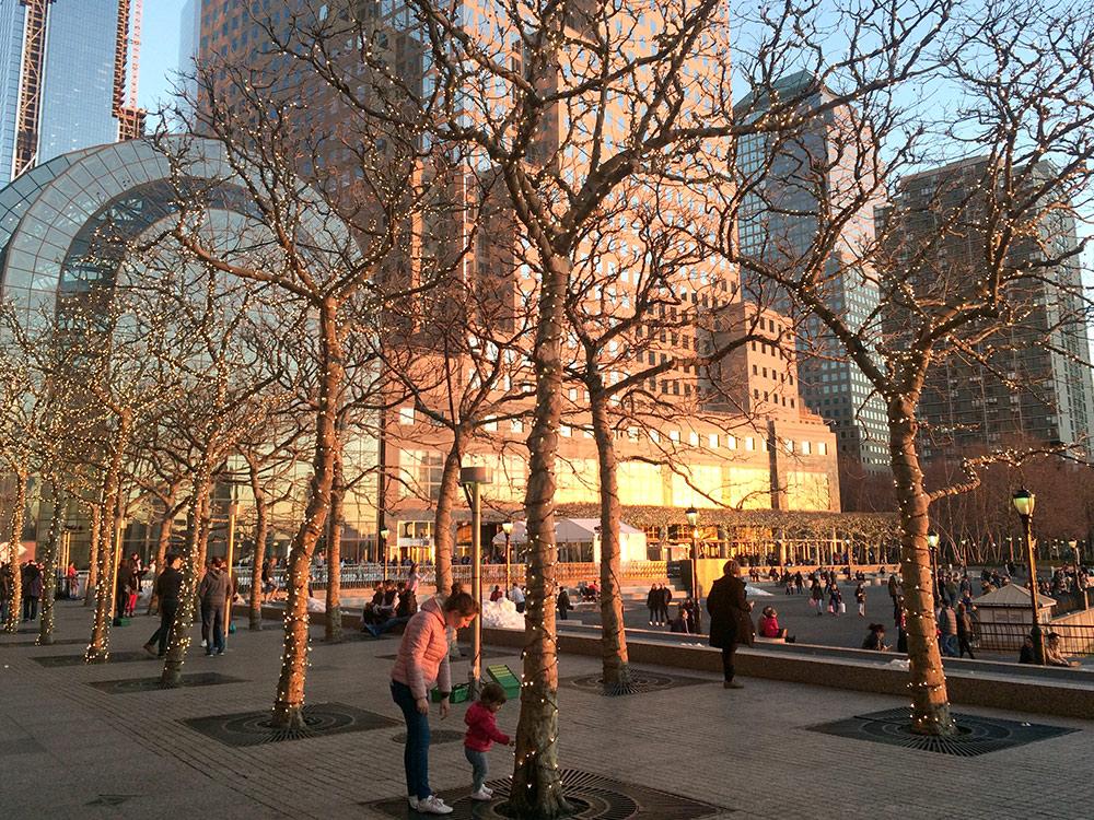 Brookfield place — офисный и торговый центр, расположенный неподалеку от мемориала 9/11 в районе Бэттери-Парк-сити, популярного у многих знаменитостей. Неподалеку живет Леонардо Ди Каприо