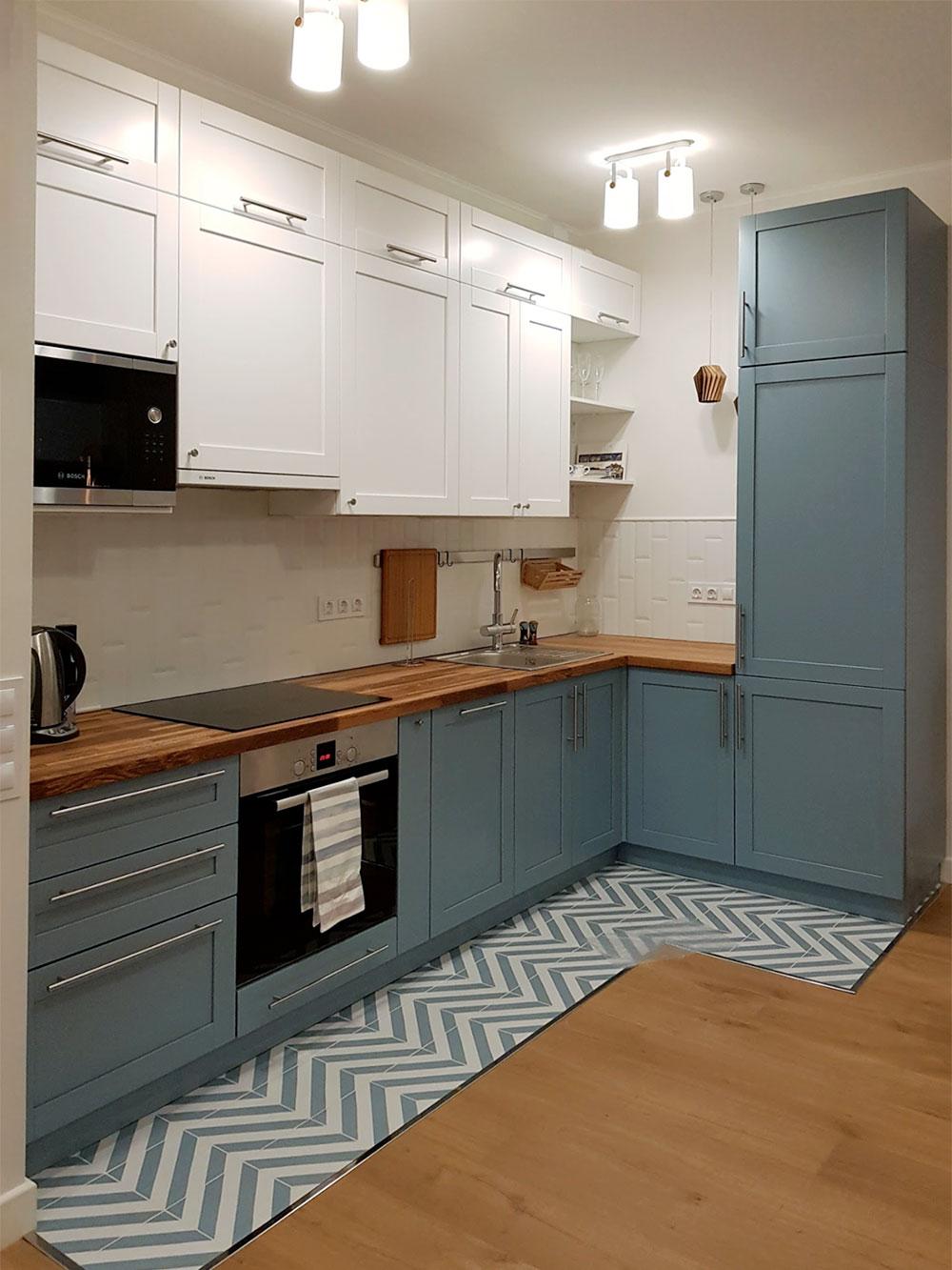 Так выглядит кухня после ремонта