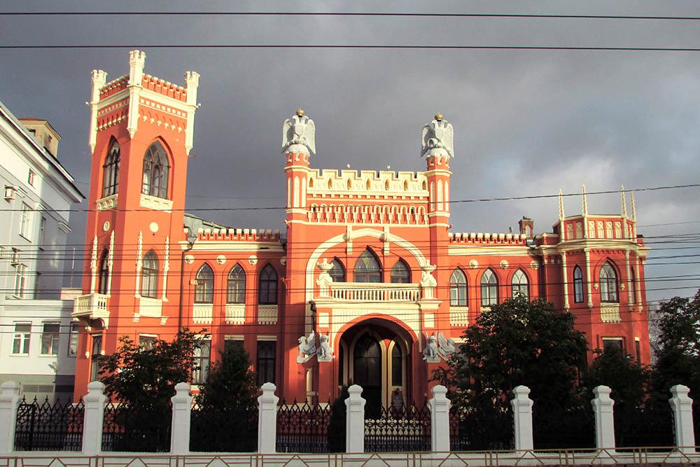 Особняк Булычева. Красивейшее здание Кирова