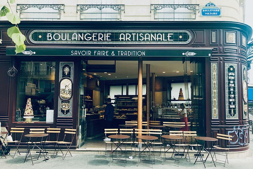 Традиционная французская булочная