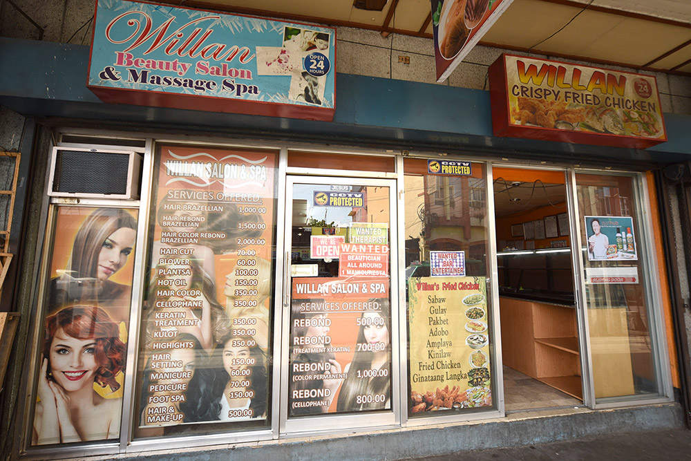 Салон-парикмахерская в Давао