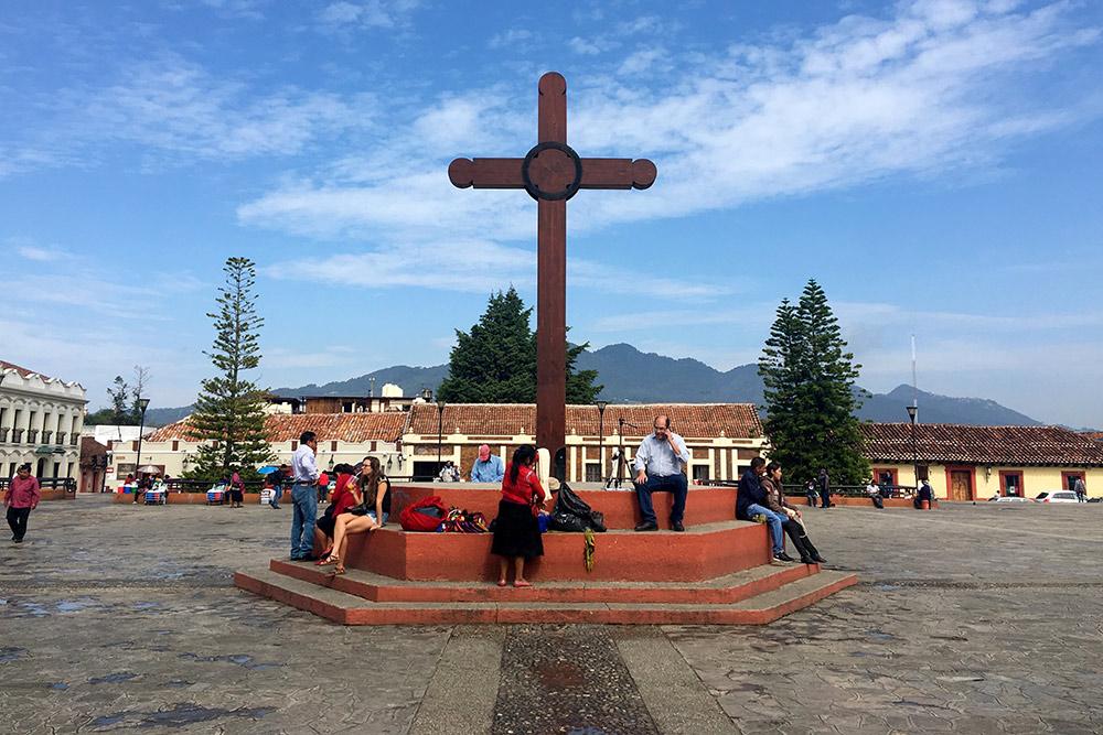 Центральная площадь Сан-Кристобаля