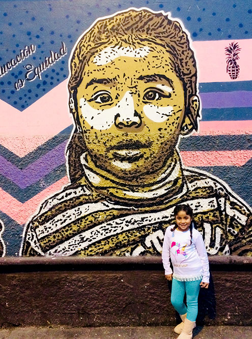 Ла-Пунта. Девочка с портрета живет в доме напротив. В этом районе небезопасно гулять после шести вечера