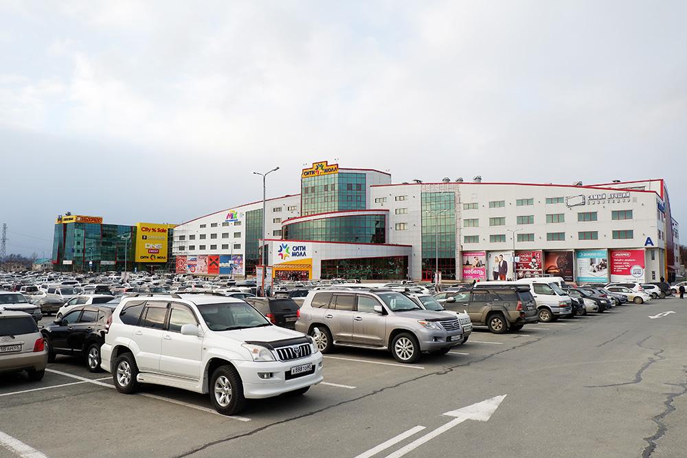 «Сити-молл» — единственный на всю область торгово-развлекательный комплекс