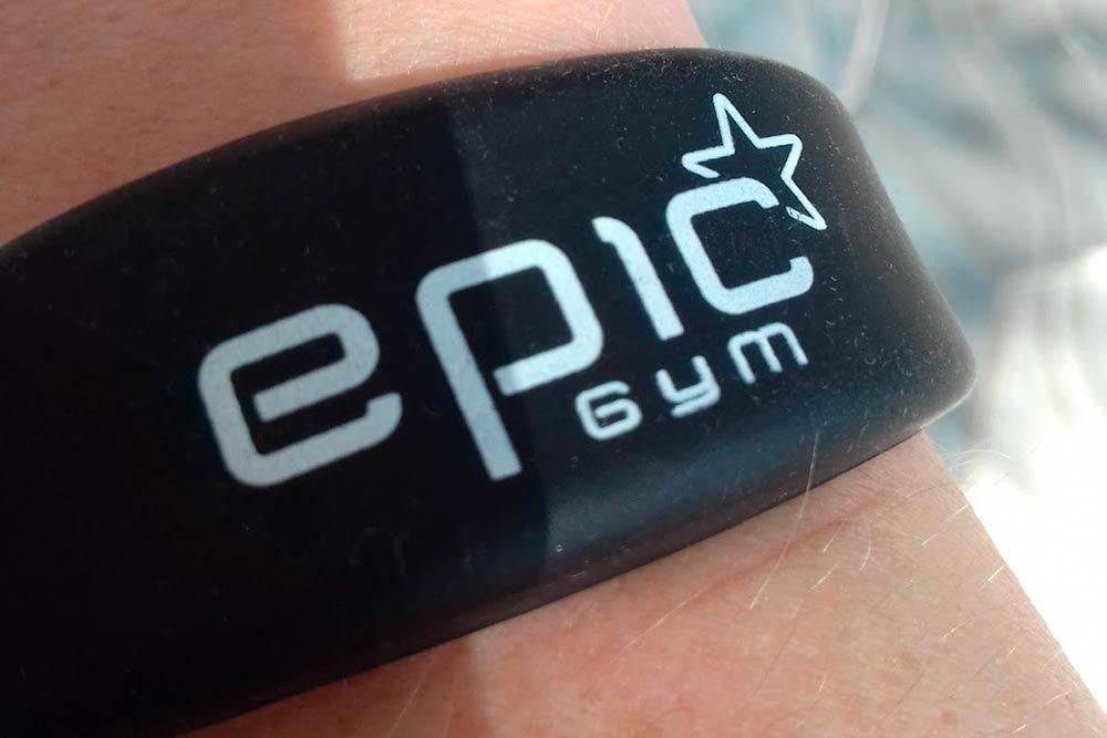 Электронный браслет из моего спортзала