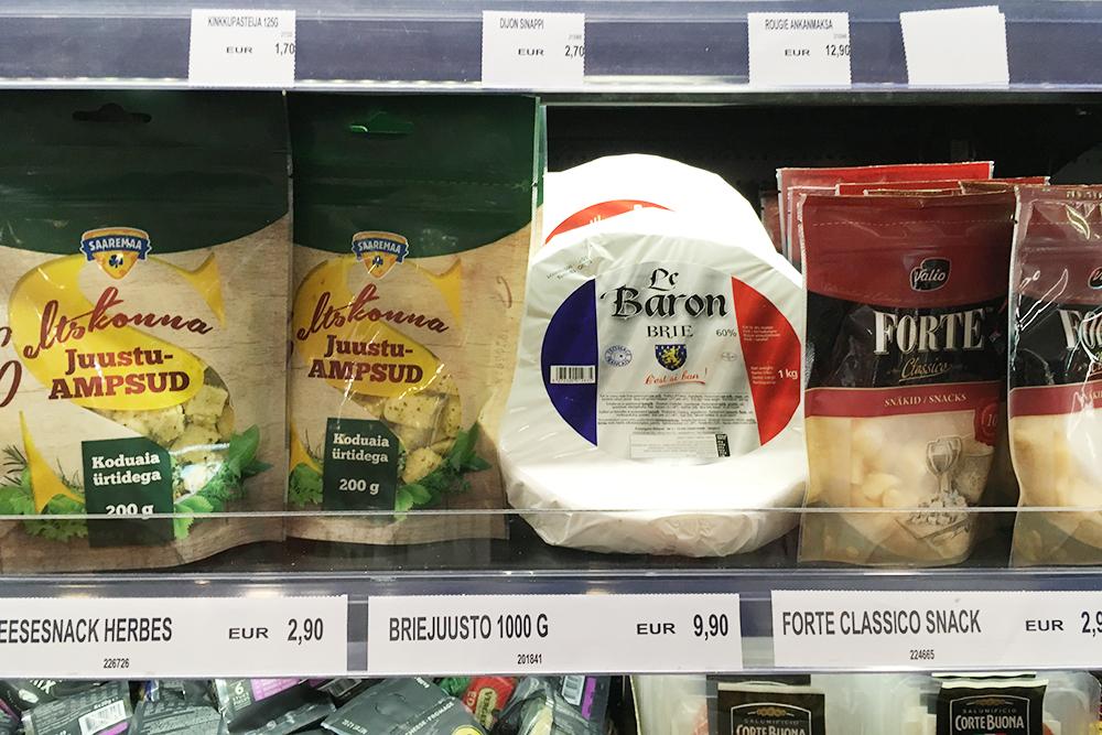 Килограмм сыра бри стоит как гауда сомнительного происхождения в России