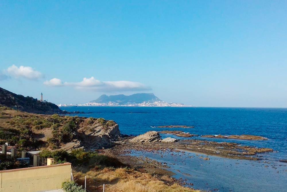 Вид на остров Гибралтар