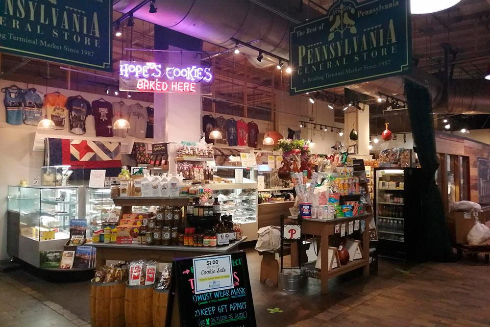 «Ридинг-терминал-маркет» в Филадельфии