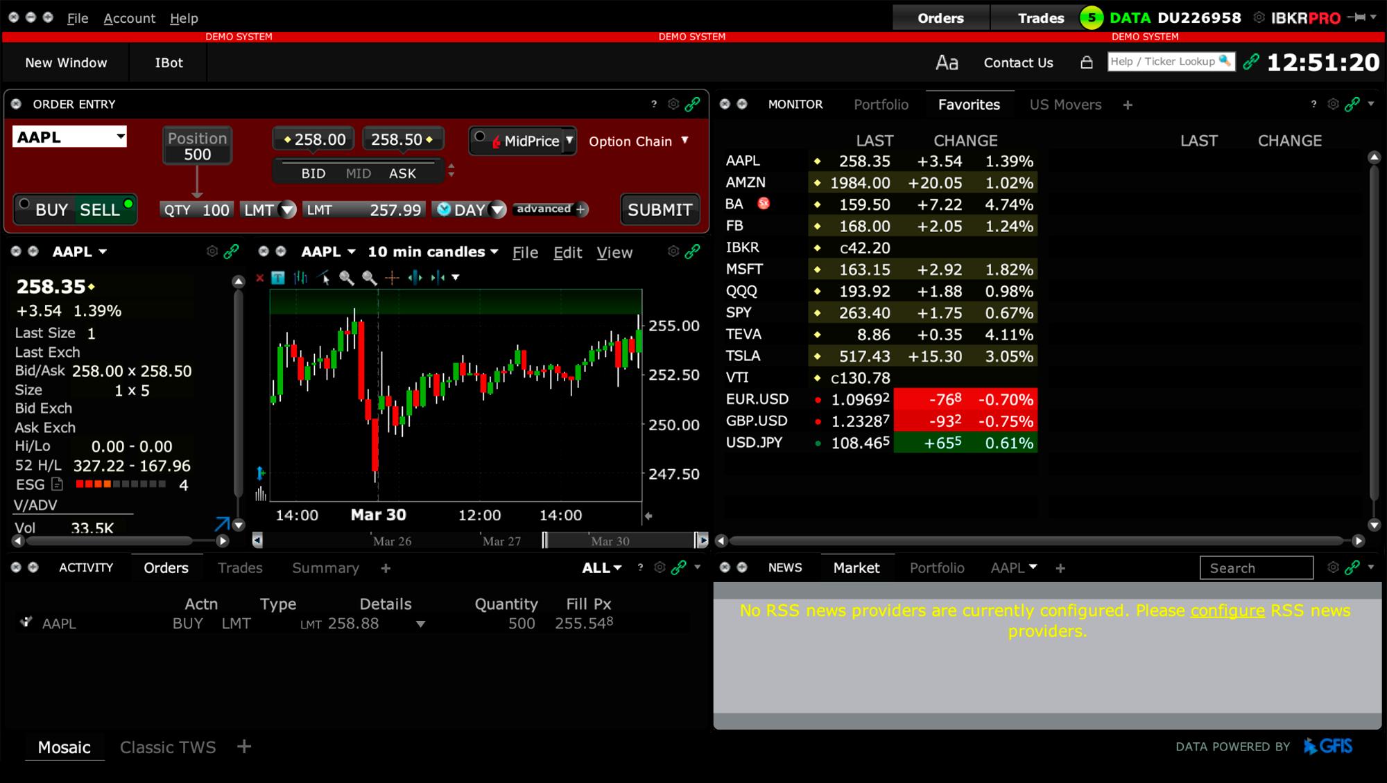 Так выглядит главный экран программы