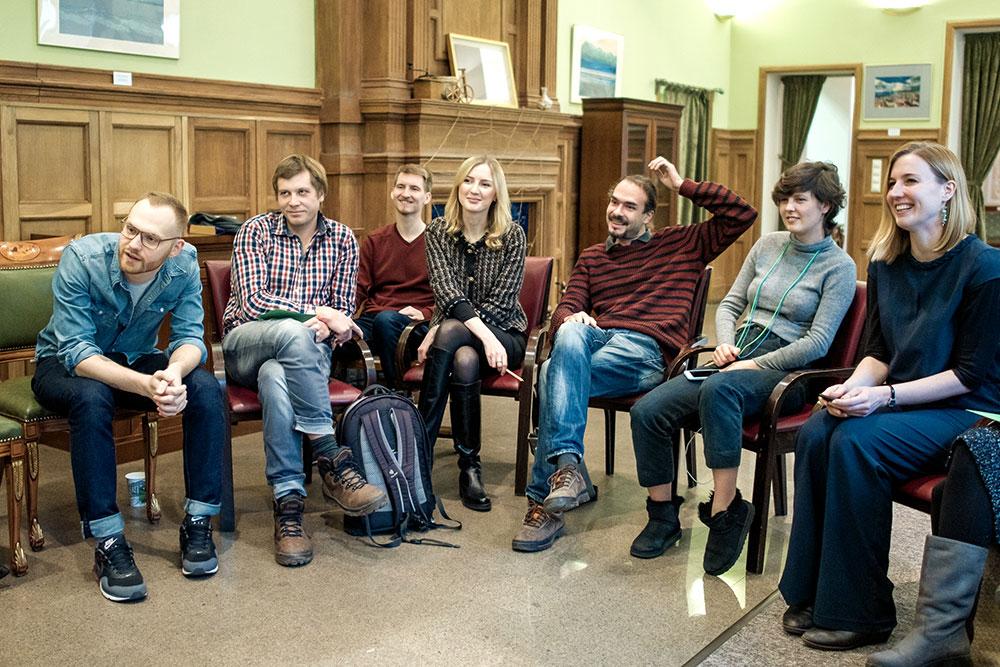 Встреча лекторов, на которой они делятся друг с другом методиками
