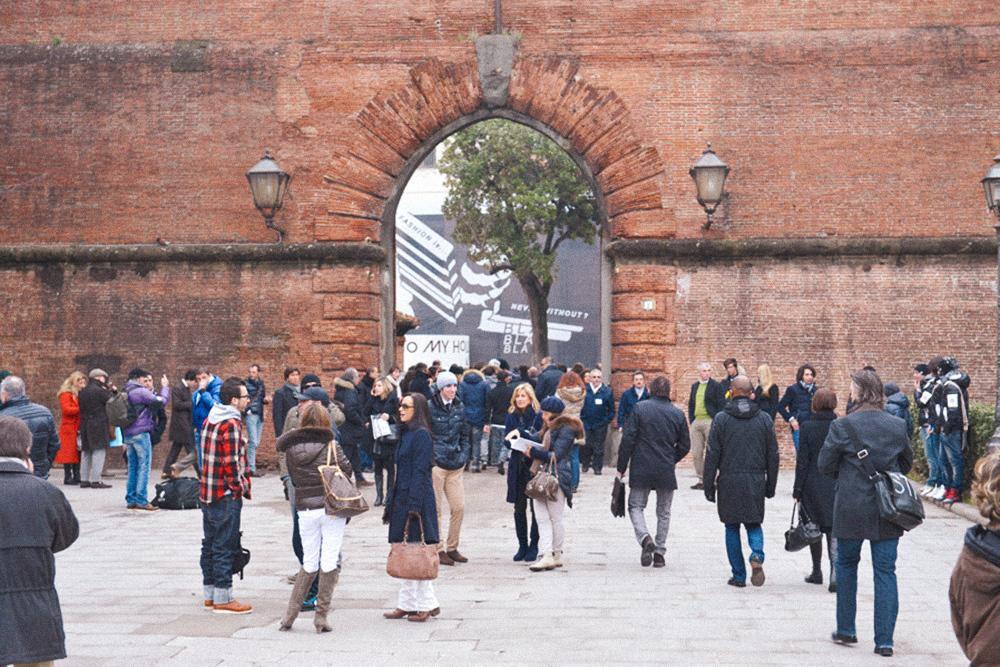 Вход на территорию выставки