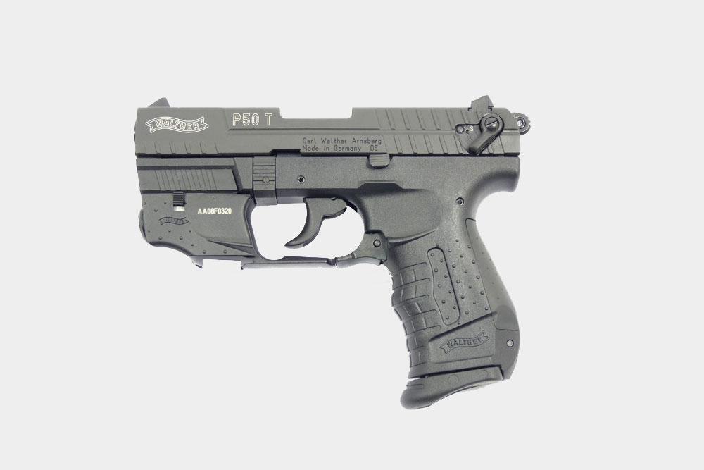 Газовый пистолет «Вальтер» не отличить от боевого