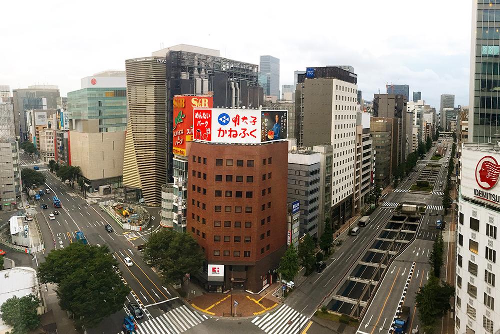 Офисные здания в токийском районе Гинза