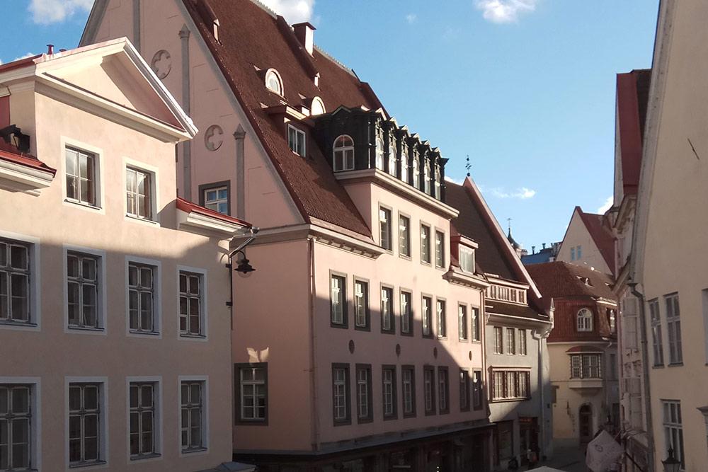 Похожих домов много в Старом городе