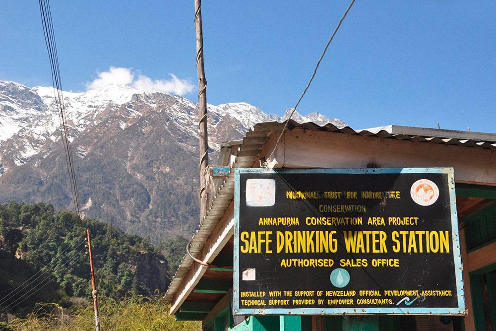 Те самые пункты с фильтрованной питьевой водой
