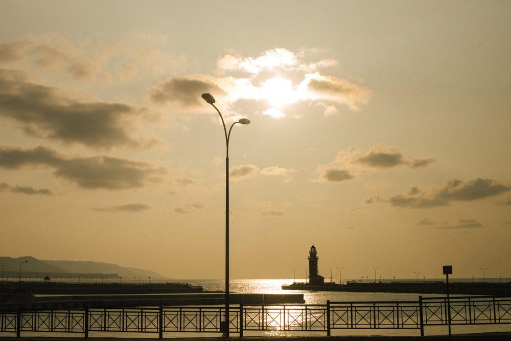Гремячинский маяк. Здесь можно остановиться и прогуляться по небольшой набережной
