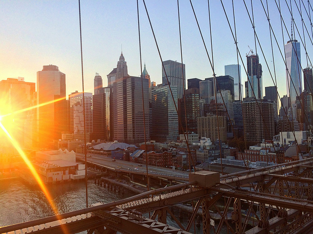 В Нью-Йорке хорошо строить карьеру и зарабатывать деньги. Но воспитывать детей мне бы хотелось в более спокойном месте