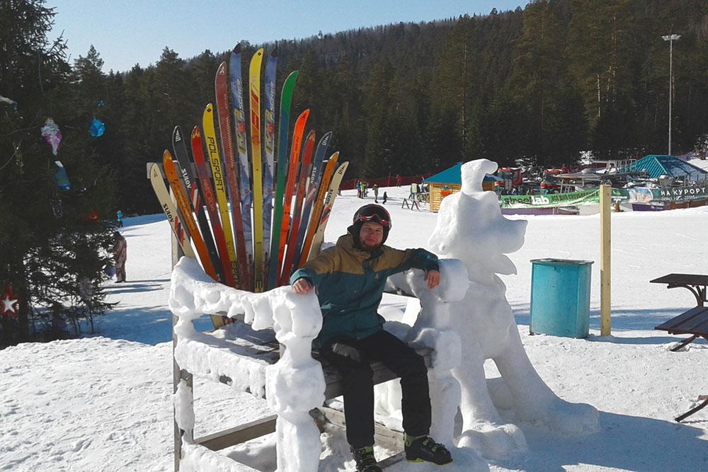 Приехали с другом на горнолыжный курорт «Евразия» и почувствовали себя королями