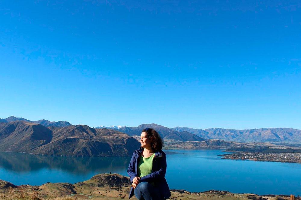 Меня очень впечатлили открывающиеся с Ройс-пика виды — я включила их в тройку лучших пейзажей Новой Зеландии
