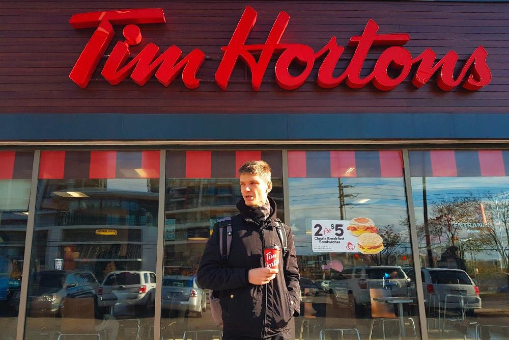 «Тим Хортонс» — самая популярная сеть кофеен в Канаде