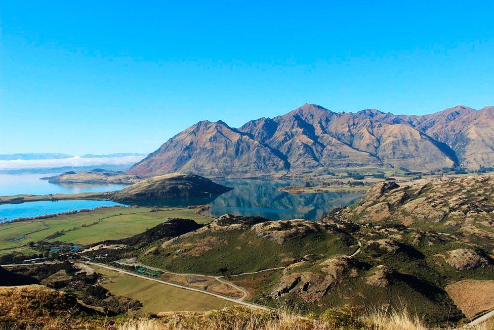 Виды на озеро Ванака стали одним из лучших впечатлений за поездку