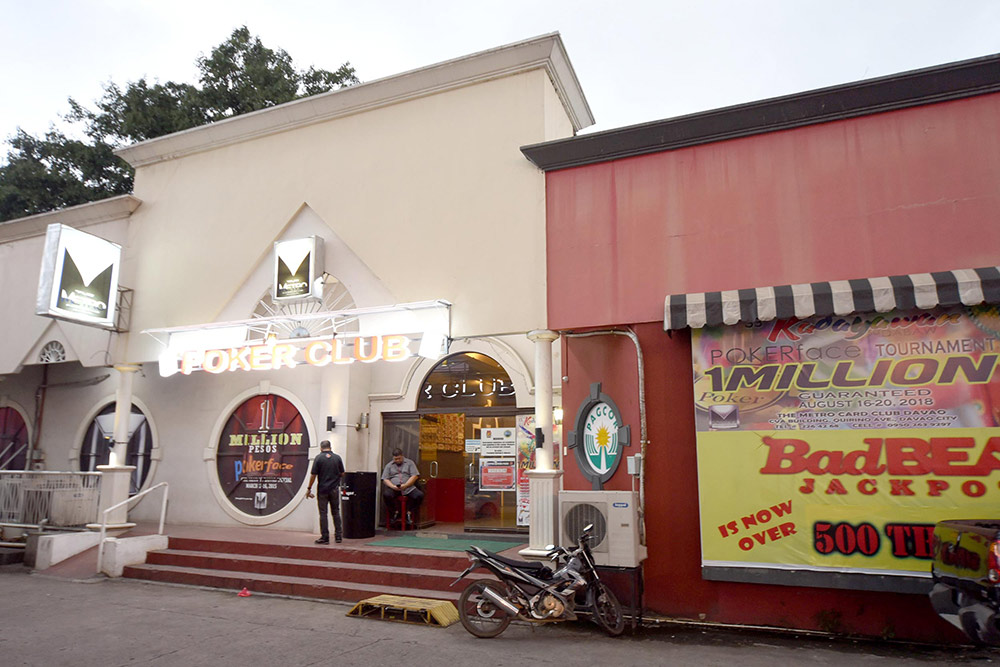 Покерный клуб в Давао
