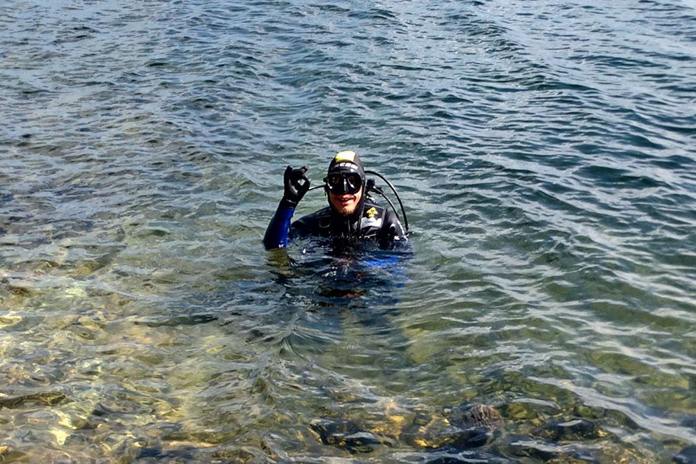 Фото с озера Тургояк. Мои друзья туда периодически выбираются летом, им очень нравится