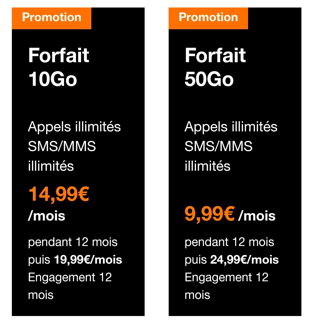 Убийственный мир французских акций: покупаешь тариф, который действует год, а потом надо искать новый. Похоже, что так операторы перегоняют клиентов туда-сюда. По этим тарифам звонки традиционно безлимитные, 10 Гб стоит 15 евро, 50 Гб — 10 евро. Где логика?