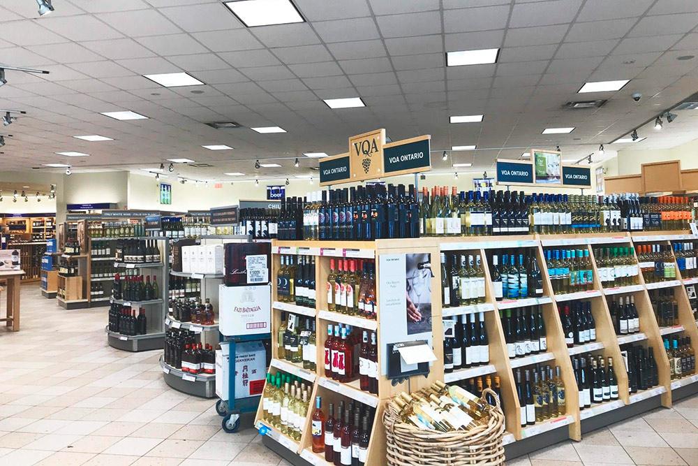 LCBO — единственная сеть в Канаде, где можно купить крепкий алкоголь