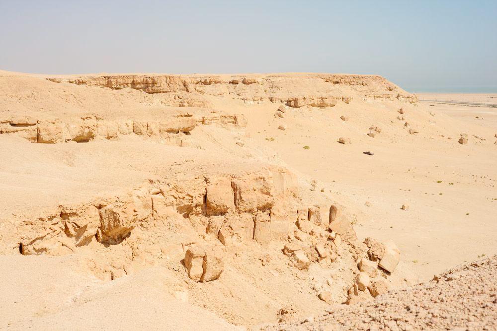 Мне очень не хватает деревьев и зелени в Кувейте, но и в пустыне можно найти красоту