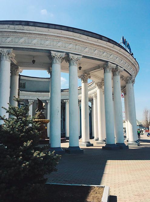 Вокзал — самое красивое здание Минвод