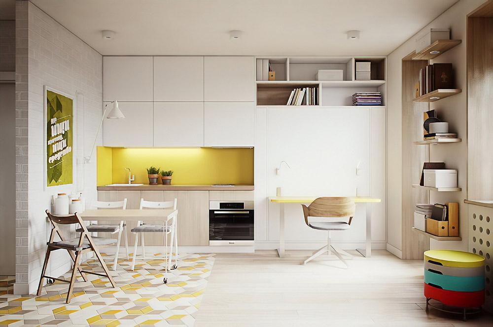 Проект интерьера квартир для жилого комплекса в Уфе