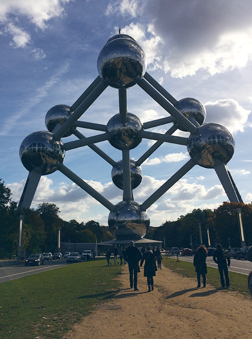 Атомиум построили к Всемирной выставке 1958 года