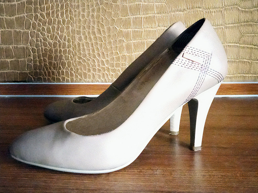 В 2014 году купила туфли за 495 р., ношу до сих пор