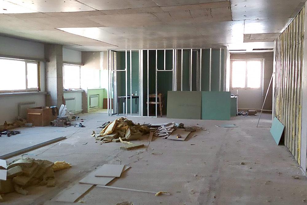 Ремонт помещения для будущей фабрики