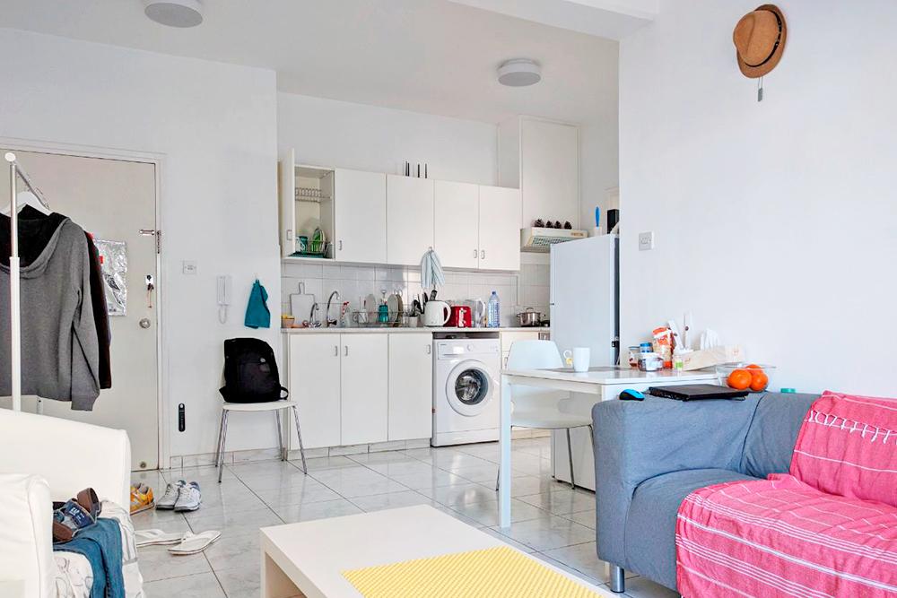 Я снимаю однокомнатную квартиру в Лимасоле за 550€