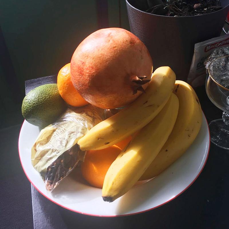 Запас фруктов длятех, чей организм еще не понял, что уже тепло