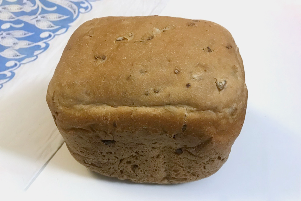 Вот такой получается хлеб