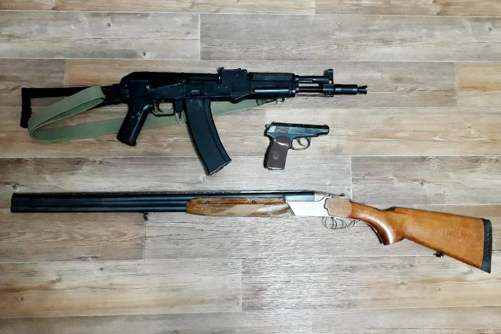 Мой арсенал: карабин «Сайга», пистолет МР-79Т и ружье ТОЗ-34ЕР